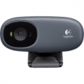 Logitech C110 Webcam - Black - USB 2.0
